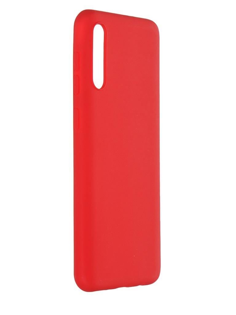 Чехол Pero для Samsung Galaxy A50S / A50 Soft Touch Red CC01-A50SR