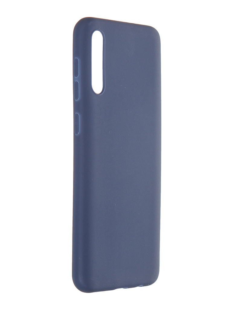 Чехол Pero для Samsung Galaxy A50S / A50 Soft Touch Blue CC01-A50SBL