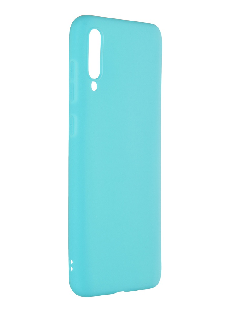 Чехол Pero для Samsung Galaxy A70 Soft Touch Turquoise CC01-A70C