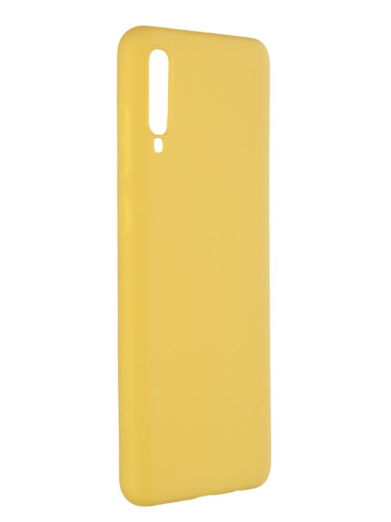 Чехол Pero для Samsung Galaxy A70 Soft Touch Yellow CC01-A70Y