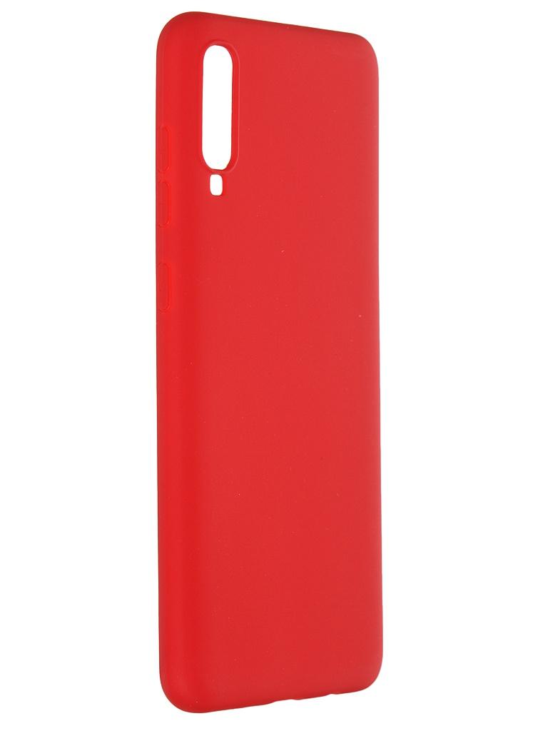 Чехол Pero для Samsung Galaxy A70 Soft Touch Red CC01-A70R