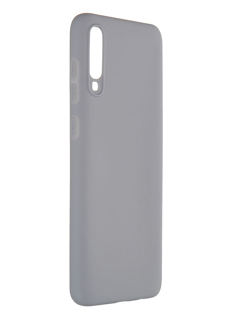 Чехол Pero для Samsung Galaxy A70 Soft Touch Grey CC01-A70GR