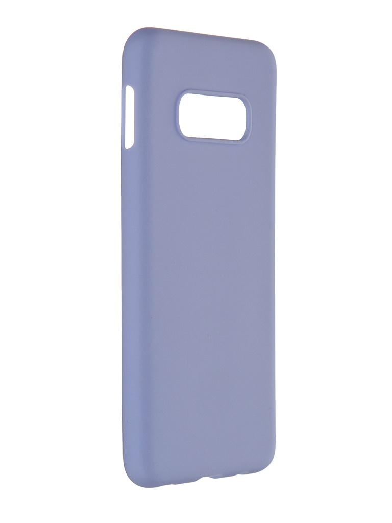 Чехол Pero для Samsung Galaxy S10E Soft Touch Light Blue CC01-S10EOB