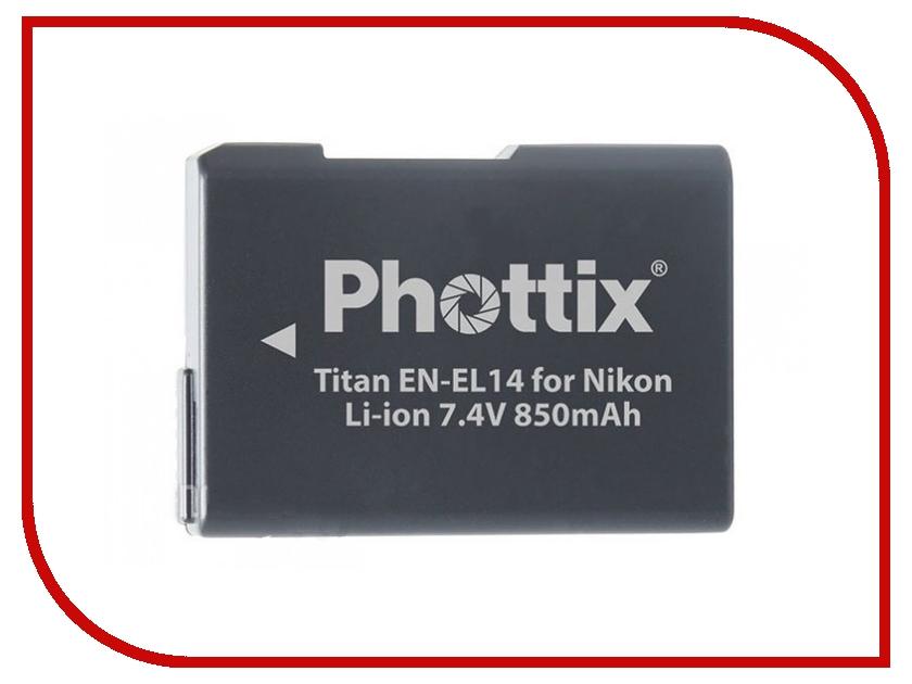 Аккумулятор Phottix EN-EL14