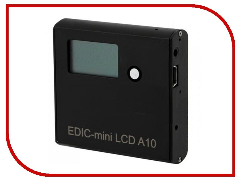 Диктофон Edic-mini LCD A10-300h - 2Gb action камера sjcam sj4000 black