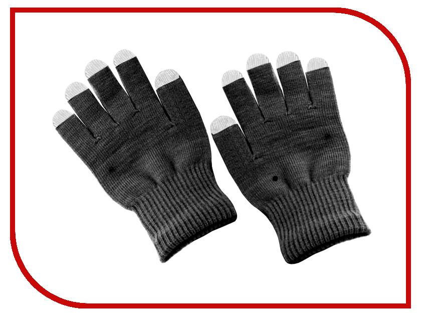 Теплые перчатки для сенсорных дисплеев MBM 032075 текстиль Black