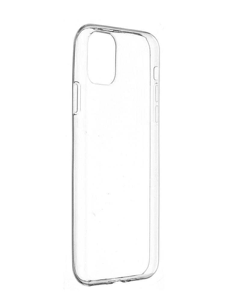Чехол Pero для Apple iPhone 11 Pro Max Silicone Clip Case Transparent CC01-I6519TR