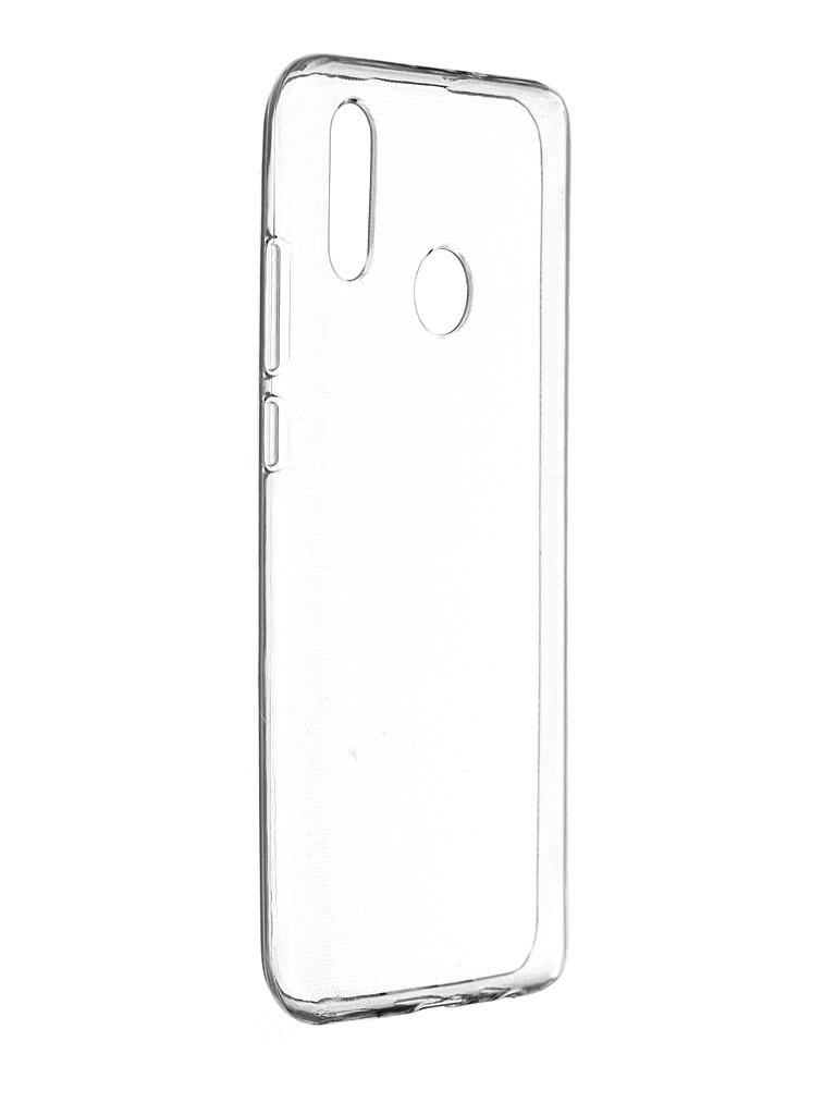 Чехол Pero для Huawei P Smart 2019 Silicone Clip Case Transparent CC01-HPS19TR