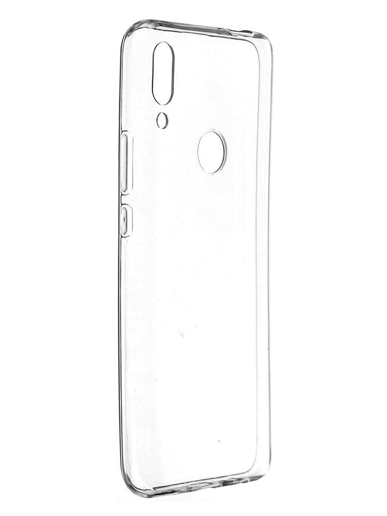 Чехол Pero для Huawei P Smart Z Silicone Clip Case Transparent CC01-HPSZTR