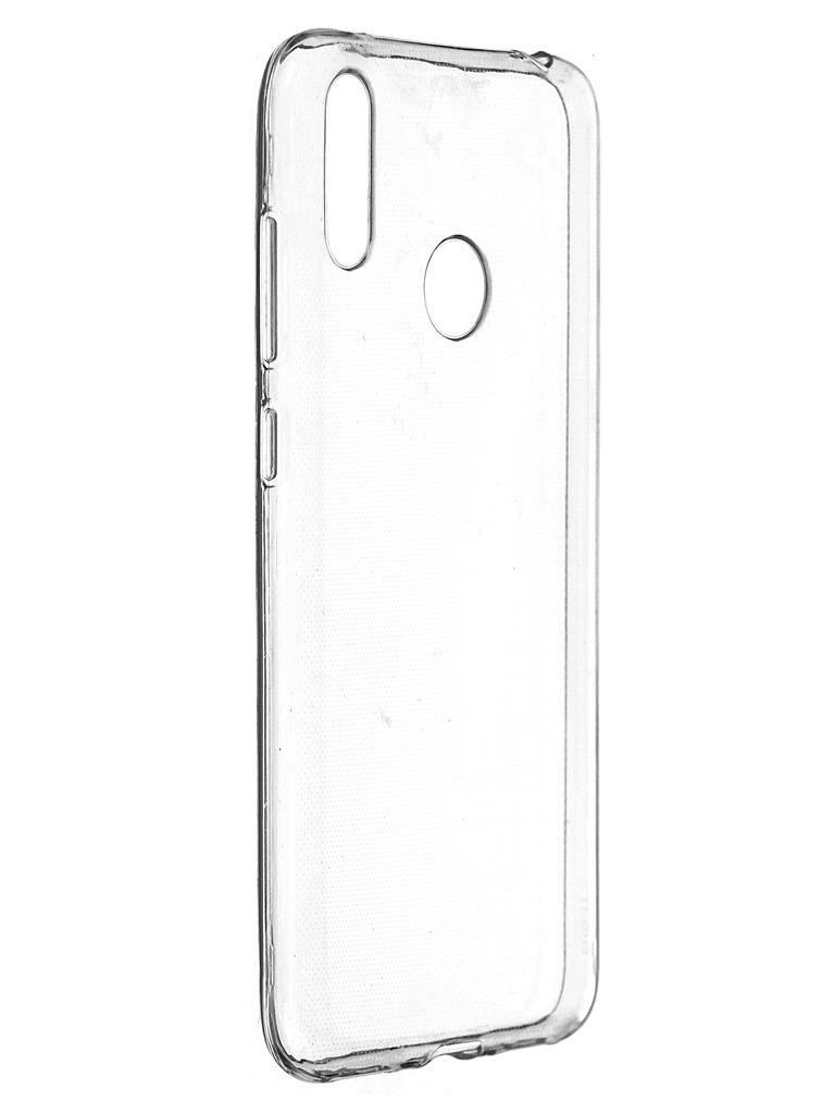 Чехол Pero для Huawei Y7 2019 Silicone Clip Case Transparent CC01-Y719TR