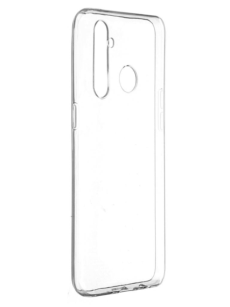 Чехол Pero для Realme 5 Pro Silicone Transparent CC01-R5PTR