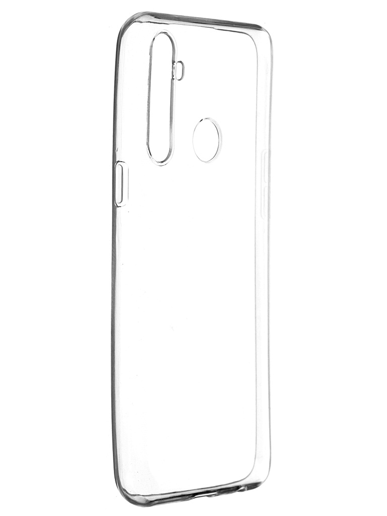 Чехол Pero для Realme 5 Silicone Transparent CC01-R5TR