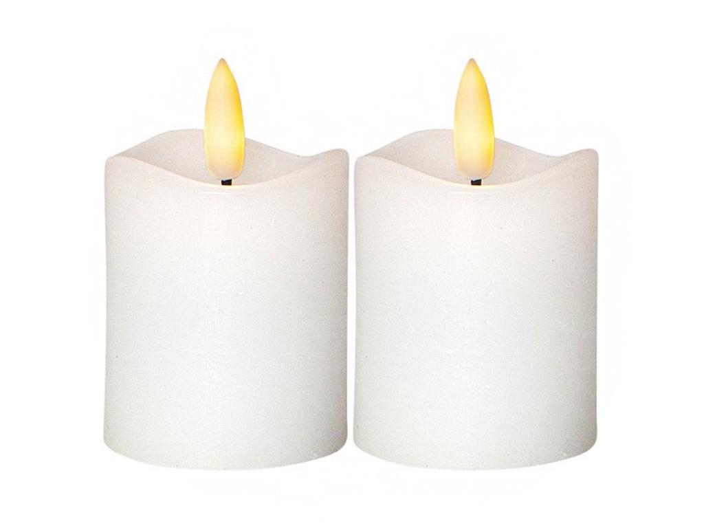 Светодиодная свеча Star Trading Flamme 2шт 063-36