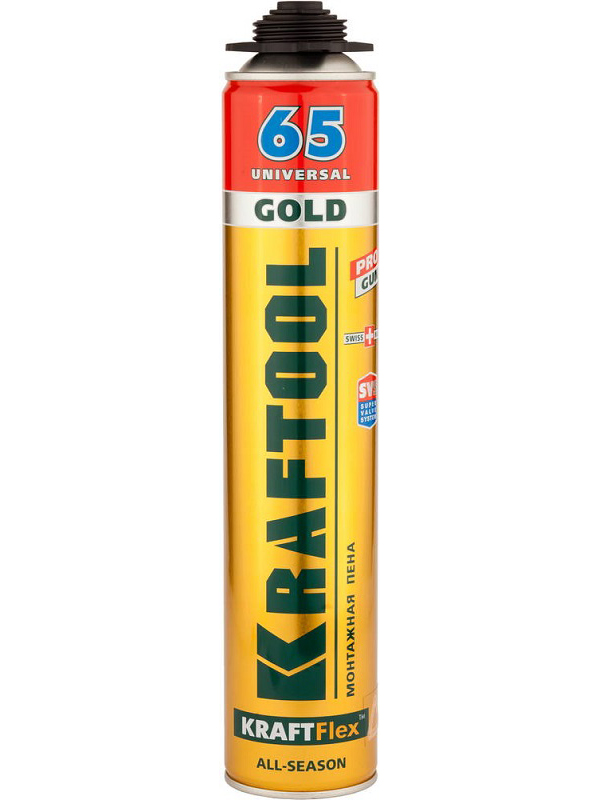 Пена Kraftool Gold 65 850ml 41194