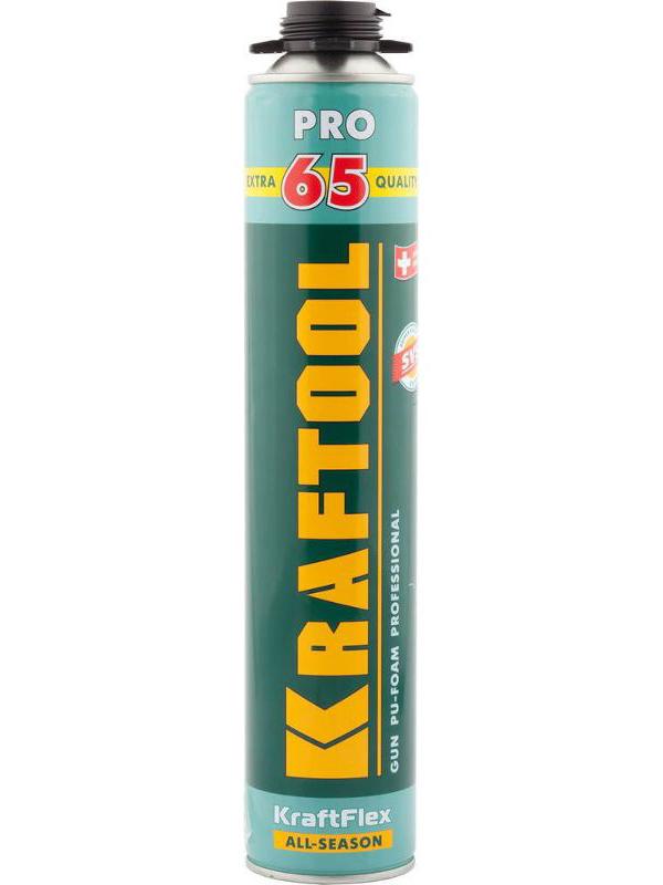 Пена монтажная Kraftool Pro 65 850ml 41184 / z01
