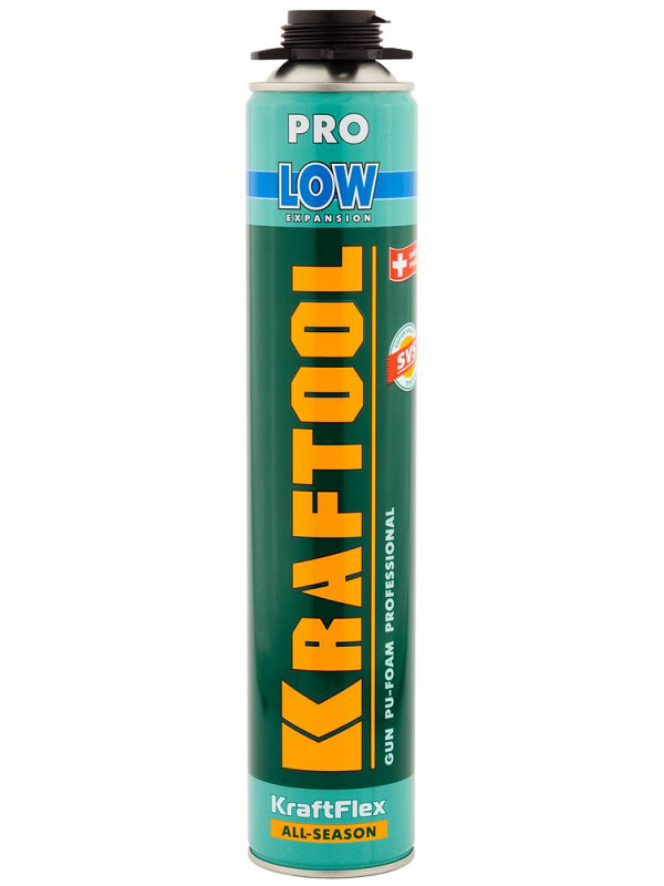 Пена монтажная Kraftool Low Expansion 800ml 41181 / z01