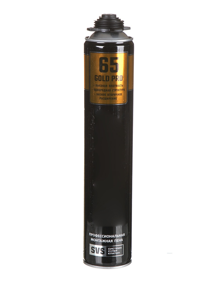 Пена монтажная Зубр Gold Pro 65 850ml 41157