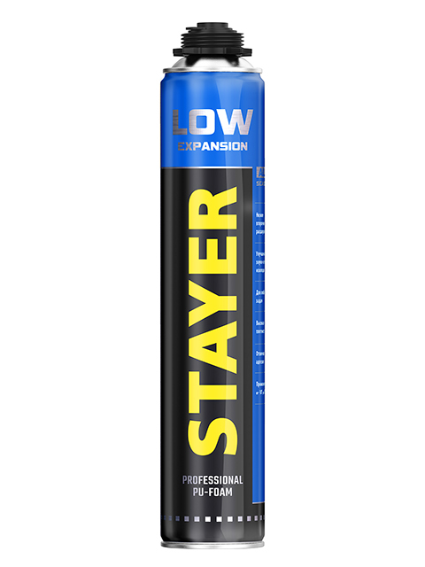 Пена монтажная Stayer Low Expansion 750ml 41136
