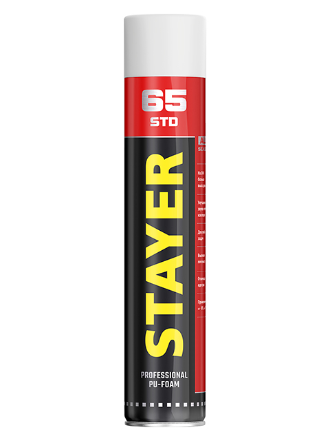 Пена монтажная Stayer STD 65 750ml 41134