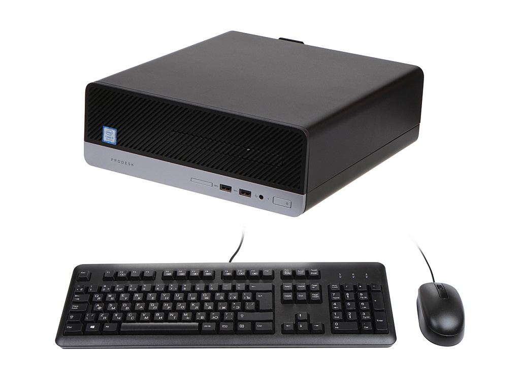 Настольный компьютер HP ProDesk 400 G6 SFF 7EM12EA (Intel Core i5-9500 3.0 GHz/16384Mb/512Gb SSD/DVD-RW/Intel UHD Graphics/Windows 10 Pro 64-bit)