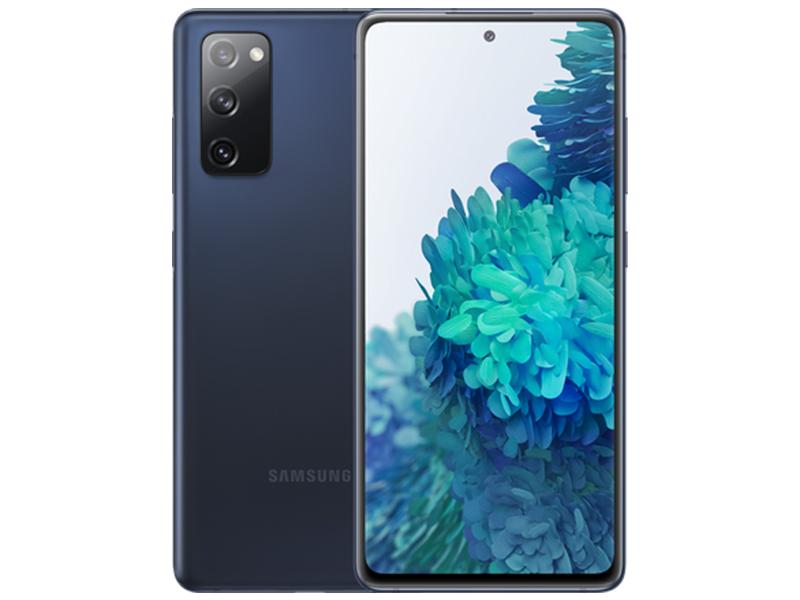 Сотовый телефон Samsung SM-G780F S20 FE 6/128Gb Dark Blue Выгодный набор + серт. 200Р!!! сотовый телефон nobby 230 dark blue