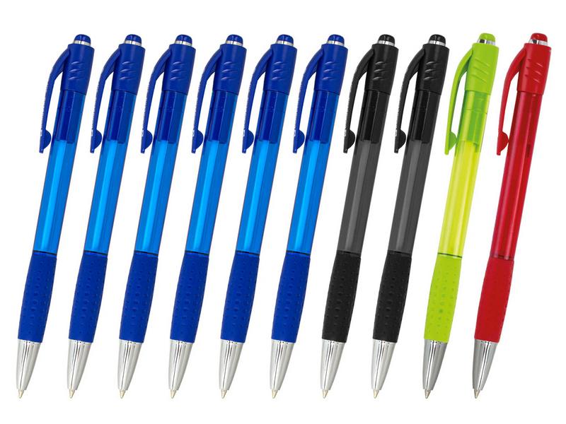 Набор шариковых ручек Brauberg Super 10шт Multicolor 143381