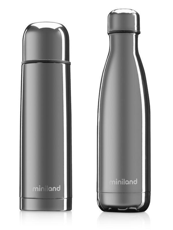 Термос Miniland MyBaby&Me 2шт 500ml Silver 89258