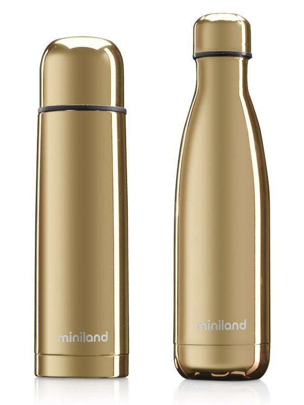 Термос Miniland MyBaby&Me 2шт 500ml Gold 89259