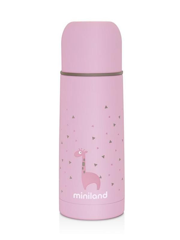 Термос Miniland Silky 350ml Pink 89217