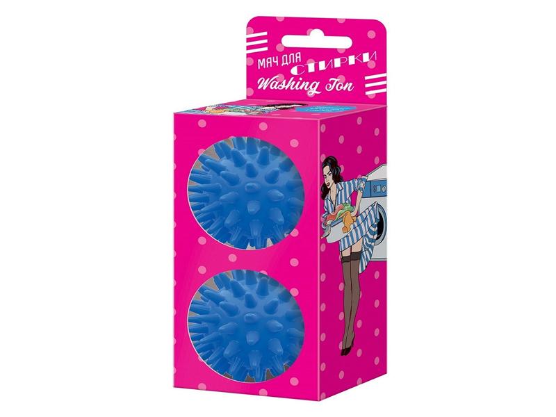 Мяч для стирки Альпина Пласт Washing Ton 2шт Blue 8010021033
