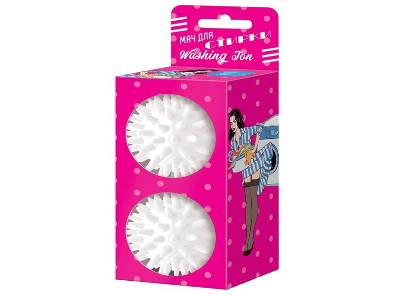 Мяч для стирки Альпина Пласт Washing Ton 2шт White 8010021213