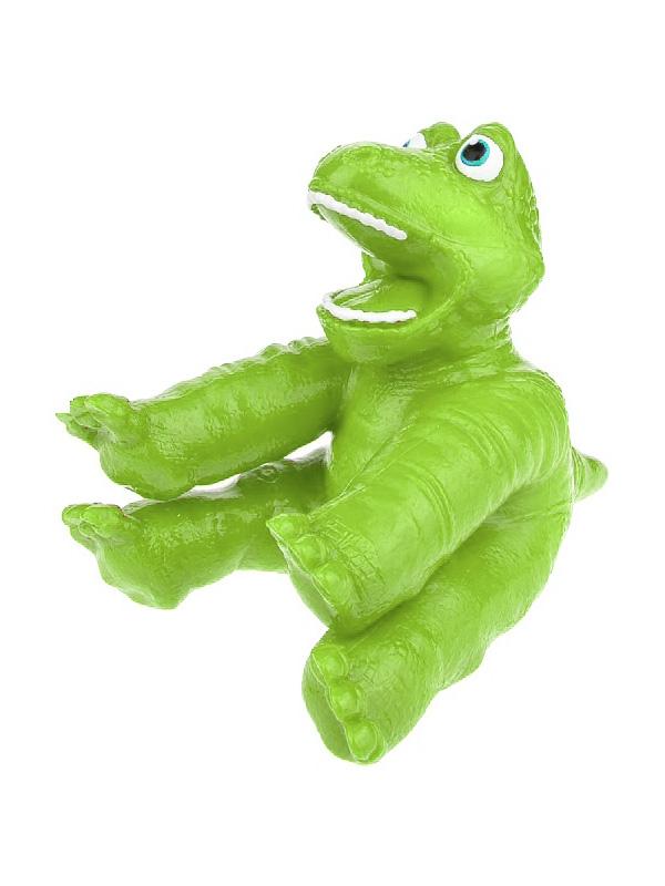 Игрушка антистресс 1Toy Супер Стрейчеры Стикизавр Green Т18655