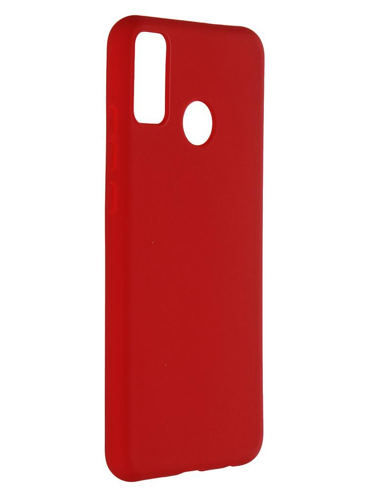 Чехол Zibelino для Honor 9X Lite Soft Matte Red ZSM-HUA-9X-LITE-RED