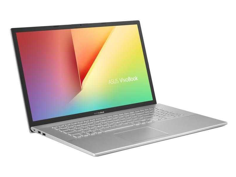 Ноутбук ASUS VivoBook X712FB-AU413T 90NB0L41-M04720 (Intel Core i3-10110U 2.1 GHz/4096Mb/512Gb SSD/nVidia GeForce MX110 2048Mb/Wi-Fi/Bluetooth/Cam/17.3/1920x1080/Windows 10 Home 64-bit)