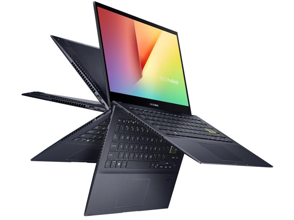 Ноутбук ASUS VivoBook TM420IA-EC084T 90NB0RN1-M01220 (AMD Ryzen 3 4300U 2.7 GHz/8192Mb/256Gb SSD/AMD Radeon Graphics/Wi-Fi/Bluetooth/Cam/14.0/1920x1080/Windows 10 Home 64-bit)