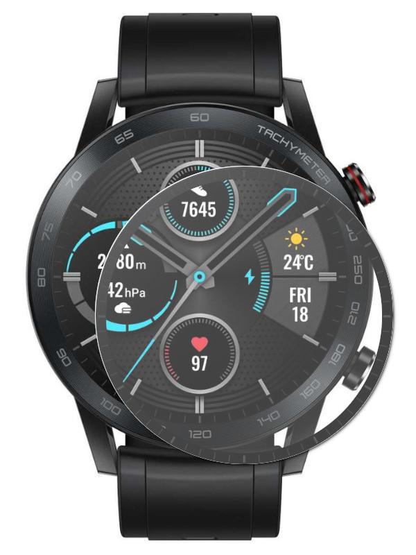 Аксессуар Полимерное защитное стекло Red Line для Honor Magic Watch 2 42mm PMMA 3D Black УТ000022897
