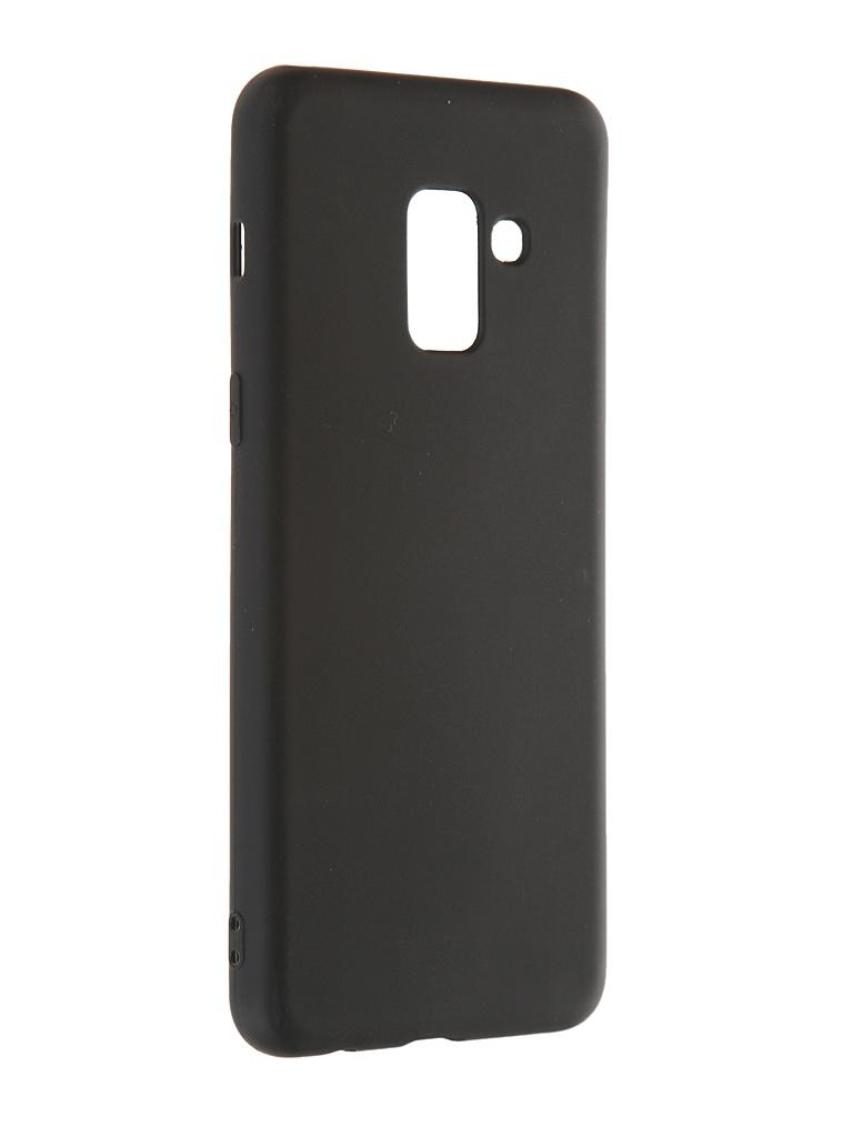 Чехол Red Line для Samsung Galaxy A8 2018 Ultimate Black УТ000023347