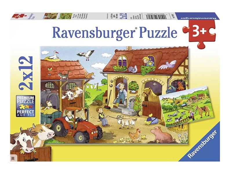 Пазл Ravensburger Работа на ферме 07560