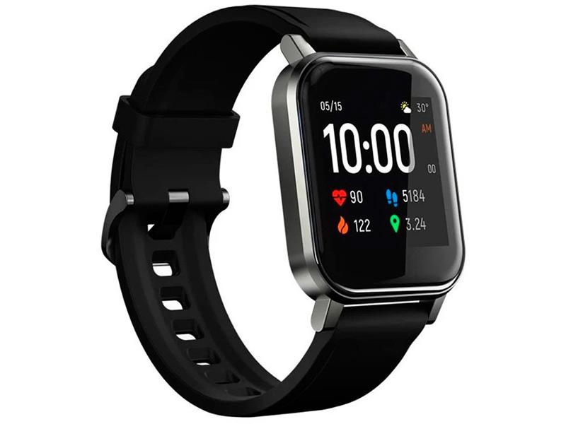 Умные часы Haylou LS02 Black Выгодный набор + серт. 200Р!!!