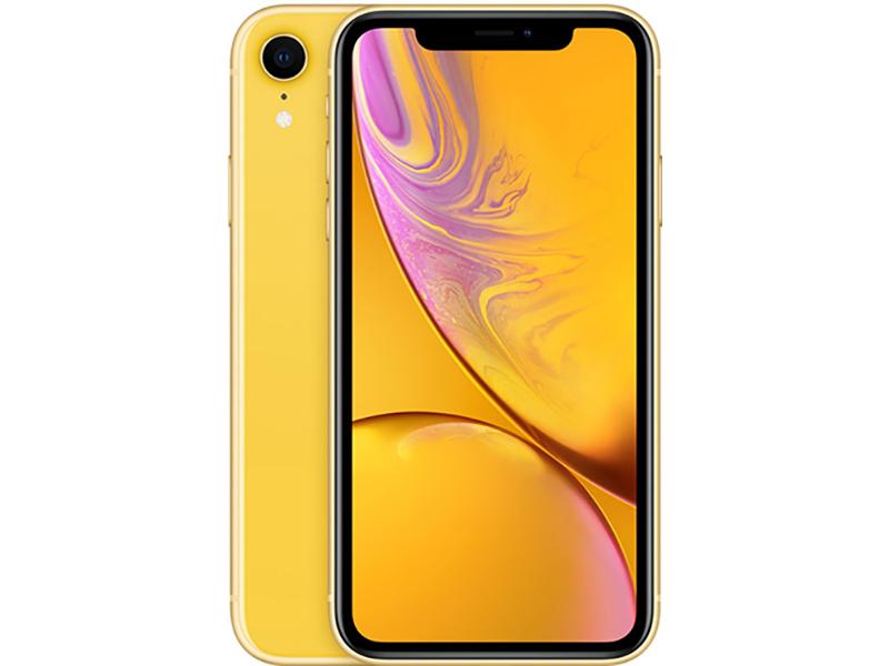 Сотовый телефон APPLE iPhone XR - 128Gb Yellow новая комплектация MH7P3RU/A