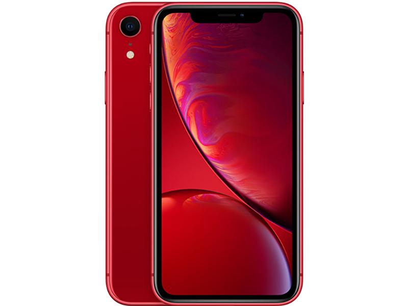 Сотовый телефон APPLE iPhone XR - 128Gb Red новая комплектация MH7N3RU/A