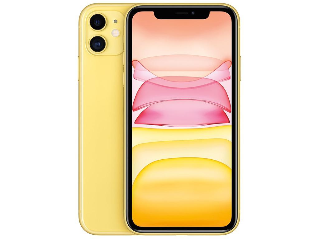 Сотовый телефон APPLE iPhone 11 - 128Gb Yellow новая комплектация MHDL3RU/A