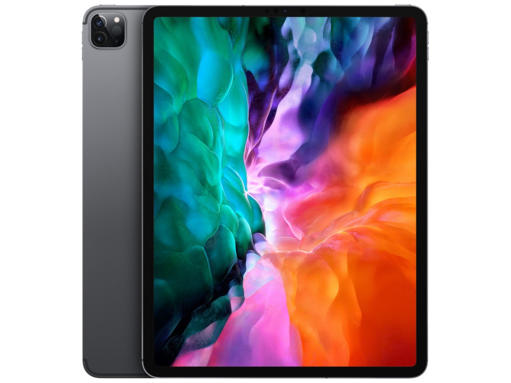 Планшет APPLE iPadPro 12.9 (2020) Wi-Fi 128Gb Space Grey MY2H2RU/A Выгодный набор + серт. 200Р!!!