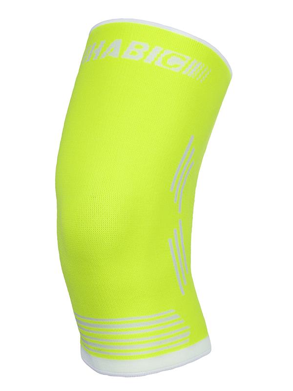 Ортопедическое изделие Наколенник Смарт Компресс Habic Sport №5 Yellow Neon White