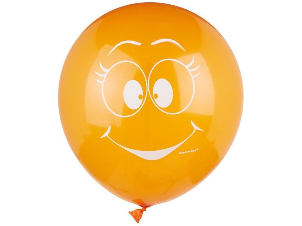 Набор воздушных шаров Пати Бум Улыбки 30cm 5шт 101737/763175