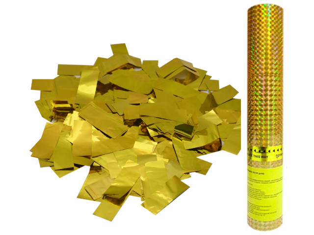Пневмохлопушка Пати Бум Золотое конфетти 30cm 109881