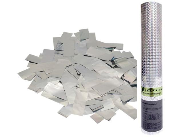 Пневмохлопушка Пати Бум Серебряное конфетти 30cm 109878