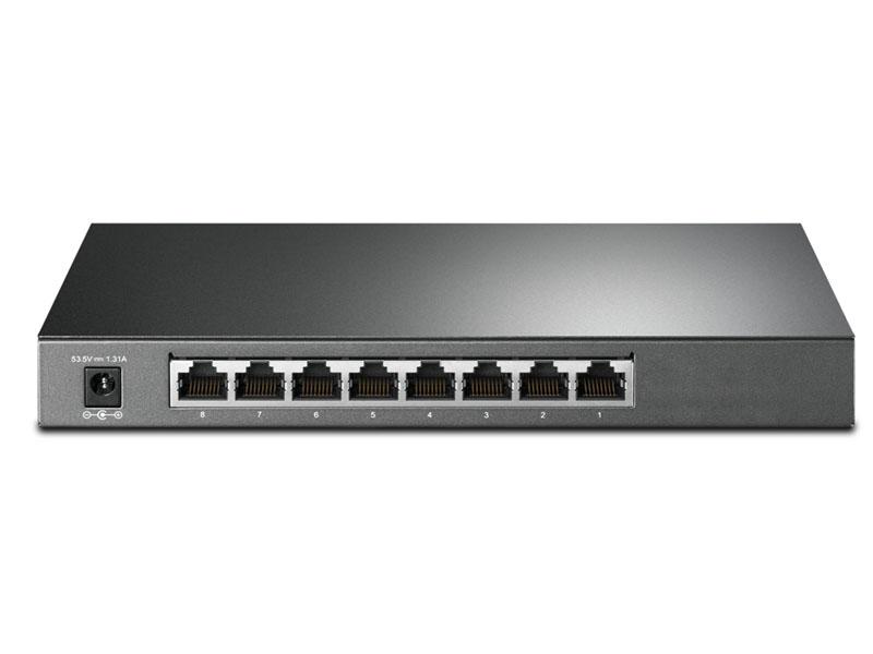 Коммутатор TP-LINK TL-SG2008P коммутатор tp link tl sg1024 v11
