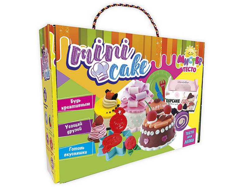 Набор для лепки Strateg Мистер тесто - Mini Cake 71204