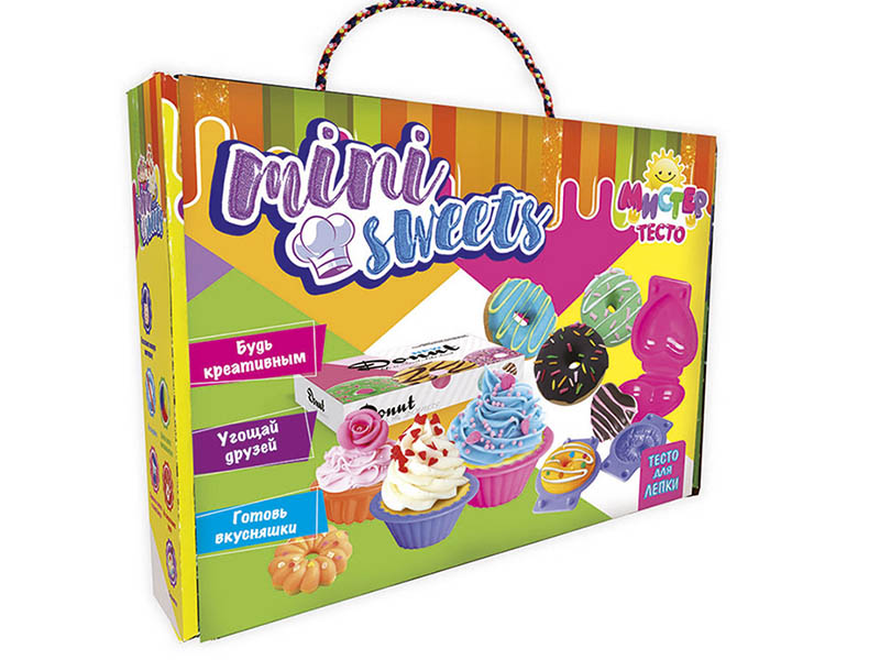Набор для лепки Strateg Мистер тесто - Mini Sweets 71203